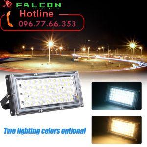 đèn pha led chiếu sáng ngoài trời bãi xe